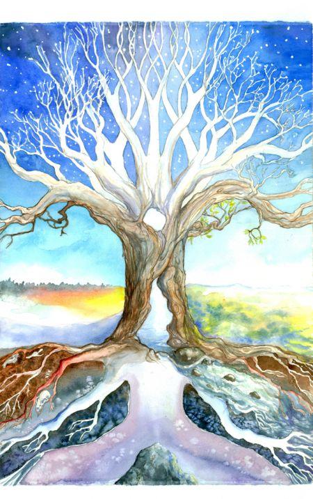 Axis Mundi Tree
